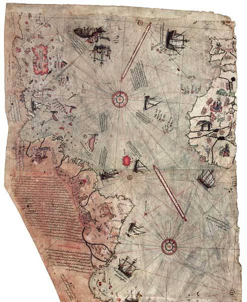 The 1513 Piri Reis Map