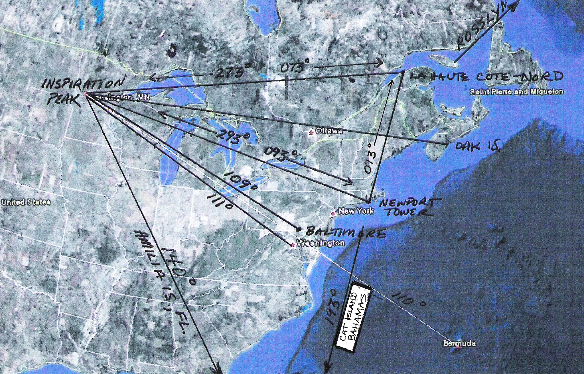 Newport Tower Mystery Solved - Washington dc map conspiracy